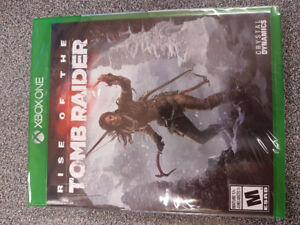 Rise of the Tomb Raider - Brand new un-opened