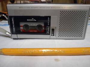 Micro Cassette Recorder