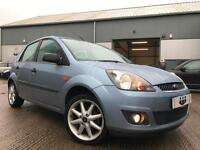 2006/06 Ford Fiesta 1.25 Zetec 5dr Manual Petrol FACE LIFT Blue ONE OWNER