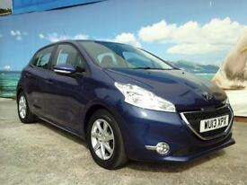 2013 PEUGEOT 208 ACTIVE £20 A YEAR TAX ONE OWNER LOW MILEAGE HATCHBACK PETROL
