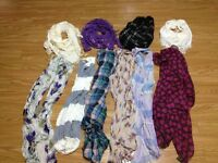 Lot of Scarves Only $20 For All!