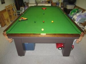 Antique Chapman Brothers Pool Table