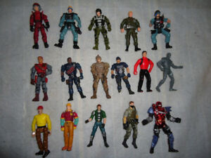 Action Figure Lot – Various Army People Figures