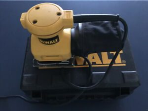 DEWALT DW411 Palm Grip 1/4-Sheet Sander 2Amp with Dust Canister