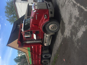 Dumper Truck Kenworth 10 wheels