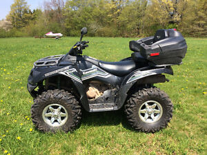 2015 KAWASAKI 750 BRUTE FORCE WITH EPS AND PLOW...WE FINANCE