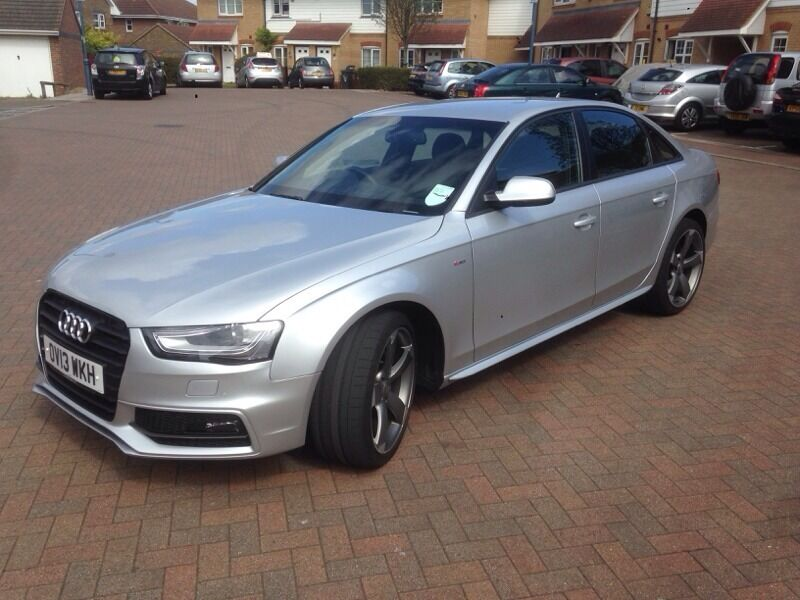 Best Silver Audi A4