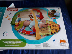 Fisher Price Musical Gym Play Mat