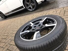"Transporter T5 Original 18"" Sportline Edition 60 Bi-colour Alloys"