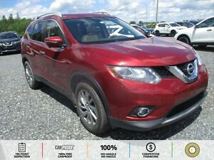 2014 Nissan Rogue SL TAN LEATHER! PUSH TO START! BACKUP CAM!...