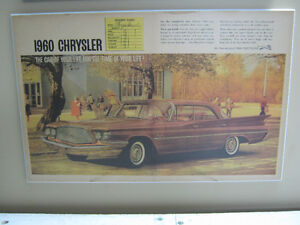 Ol car ads from 50s / 60s