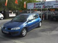 2005 RENAULT MEGANE 1.6 VVT EXPRESSION, LOW MILEAGE AND I GOOD CONDITION