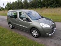 2009 09 Peugeot Partner Tepee S 1.6 HDi * NEW SHAPE * FSH * LONG MOT
