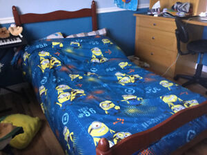 Single bed frame for child or youth