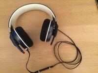 Sennheider Urbanite XL denim Over Ear Head phones