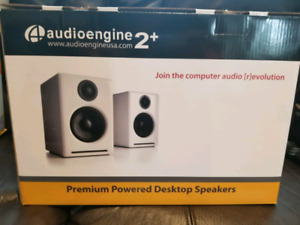 BNIB Audio Engine 2+ Speakers Satin Black