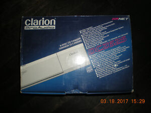 Clarion - 6 Disc CD Changer model DCZ625 - in original box