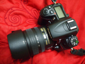 Nikon D7000 body and 18-70mm 3.5-4.5G DX Lens