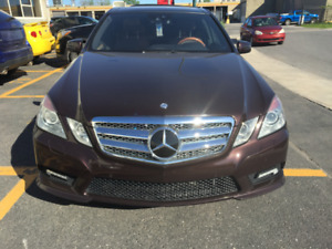 Mercedes E550 4MATIC with NIGHT VISION AND AMG PACKAGE