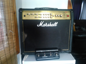 Marshall guitar amplifier
