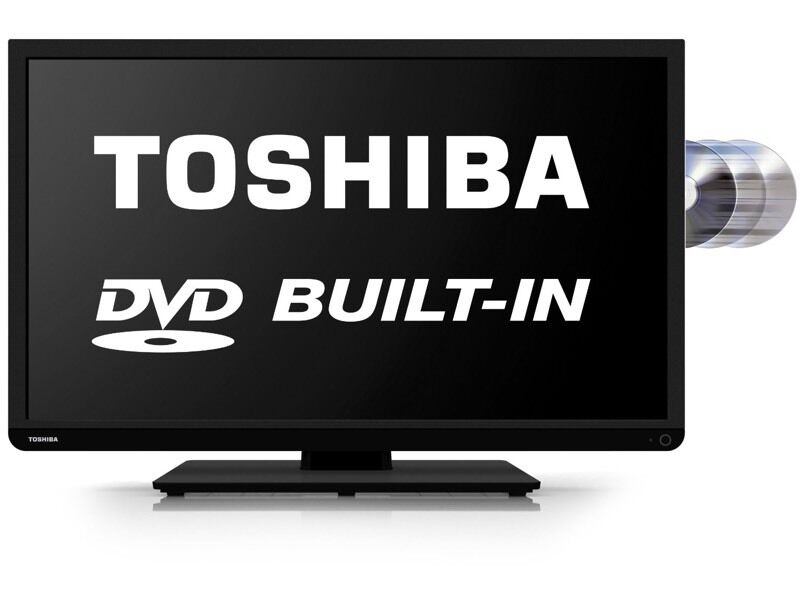 Toshiba 40 Inch Led Tv Built In Dvd Player 1080p Hd In Leicester