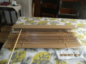 window blind, NEW, real wood