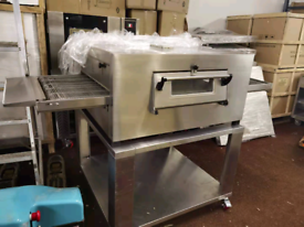 Gas pizza oven 18 inches