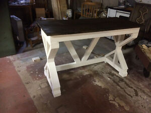 Newly built rustic desk!