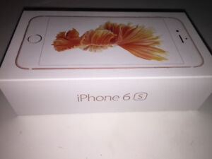 BRAND NEW IPHONE 6s 32GB ROSE GOLD