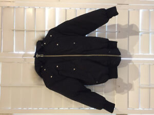 Authentic Youth Moose Knuckles Jacket Size Small