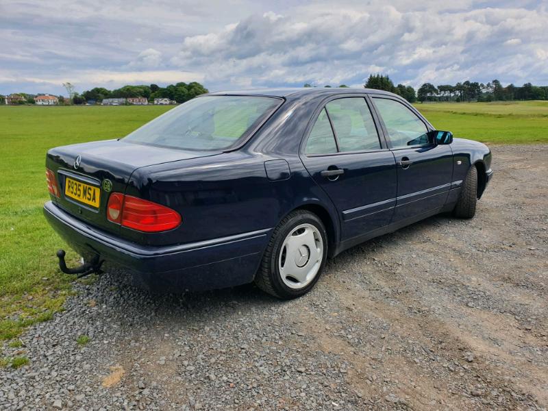 Classic Mercedes Benz E300 Turbo diesel w210 OM606 engine auto | in Ayr,  South Ayrshire | Gumtree