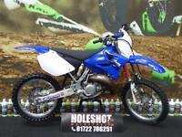 Yamaha YZ 125 Motocross Bike DEP Exhaust system
