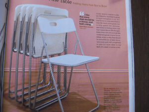 NEW: METAL AND PLASTIC CHAIR