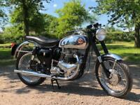 BSA RGS Replica 1962 650cc. This Is A Fully Restored Example & Is Stunning !!