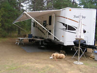 """27' """" V"""" Series Trail Bay -  Weight 6303 LBs + Double Door"""