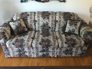 *3 PIECE SOFA, LOVE-SEAT, CHAIR.STUDENTS COMMON ROOM & COTTAGE!.