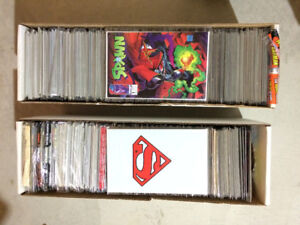 Comic Book Collection -Spawn, Death of Superman, lots more, +230