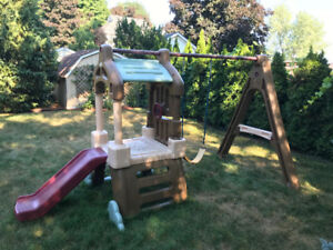 Little Tyke Outdoor Swing Set For Sale