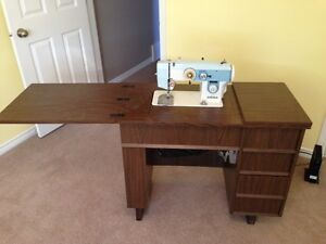 Antique Viking Sewing Table