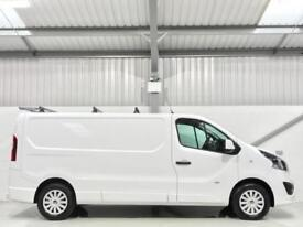 VAUXHALL VIVARO SPORTIVE LONG WHEELBASE 1.6CDTi 115PS 2900 L2H1 LWB LOW MILEAGE
