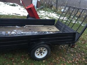 Handy utility trailer 6x10 single axel