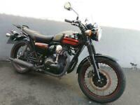Kawasaki W800 SE - Stunning retro machine