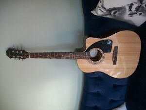 epiphone acoustic/electric guitar