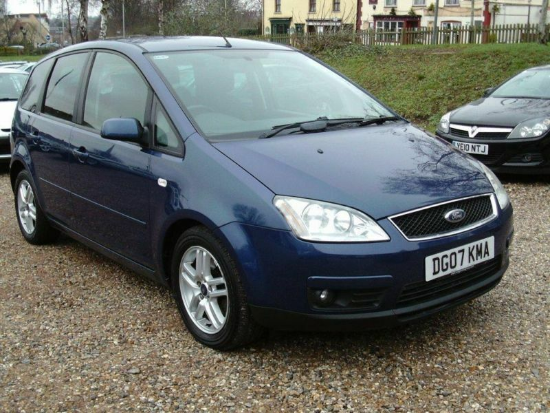 2007 ford focus c max 1 8td zetec 5dr in norwich norfolk gumtree. Black Bedroom Furniture Sets. Home Design Ideas