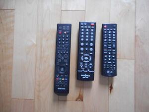 Télécommandes TV