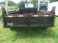 2016 Force Dump Trailer 6.8x12..Lease now for $178/month