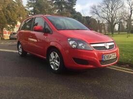 2014 Vauxhall Zafira 1.8i [120] Exclusiv 5dr 5 door MPV