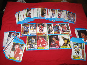1989-90 O-Pee-Chee hockey cards (250 out of 330 in set)