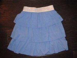 Girls 3 Tiered Blue Gymboree Skirt Size 12