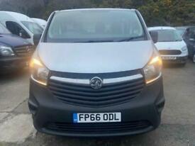 2017 Vauxhall Vivaro 1.6 L1H1 2900 CDTI BITURBO S/S 125 BHP PANEL VAN Diesel Man